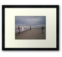 The imposible astronaught Framed Print