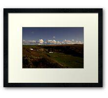 Sundown On The Valley Framed Print