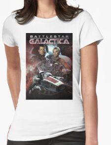Battlestar Galactica Womens Fitted T-Shirt