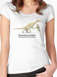 Deinocheirus - Arms Race Finalist Women's Fitted Scoop T-Shirt