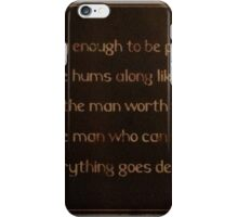 Words To Consider iPhone Case/Skin