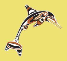 Kwakwaka'wakw ichthyosaur Kids Clothes