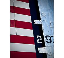 Red, White & Blue Photographic Print