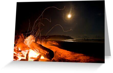 Camp Fire by Rick Symonds