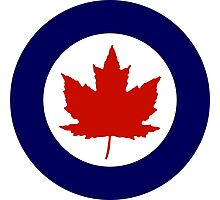 Roundel of the Royal Canadian Air Force, 1924-1968 Photographic Print