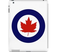Roundel of the Royal Canadian Air Force, 1924-1968 iPad Case/Skin