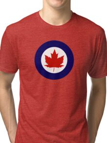 Roundel of the Royal Canadian Air Force, 1924-1968 Tri-blend T-Shirt