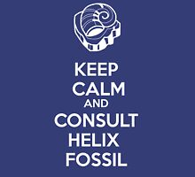 Keep Calm and Consult Helix Fossil (Blue Version) Unisex T-Shirt