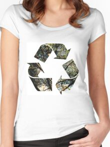 Ecology Women's Fitted Scoop T-Shirt