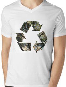 Ecology Mens V-Neck T-Shirt