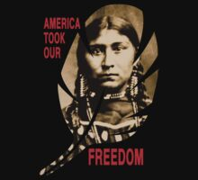 AMERICA TOOK OUR FREEDOM T-Shirt