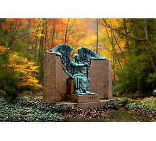 THE ANGEL OF DEATH VICTORIOUS Photographic Print