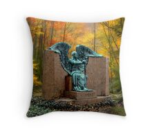 THE ANGEL OF DEATH VICTORIOUS Throw Pillow