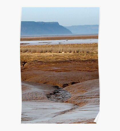 Cliffs Of Blomidon, NS Poster