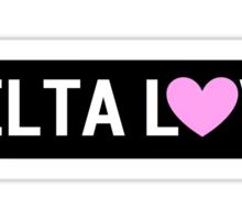 Delta Brandy Sign Sticker
