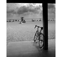 bicycle in repose Photographic Print