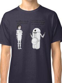 Fembot meets Urinal Bot ! Classic T-Shirt