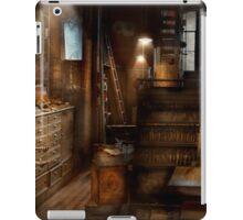 Steampunk - Tool room of a mad man iPad Case/Skin