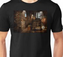 Steampunk - Tool room of a mad man Unisex T-Shirt