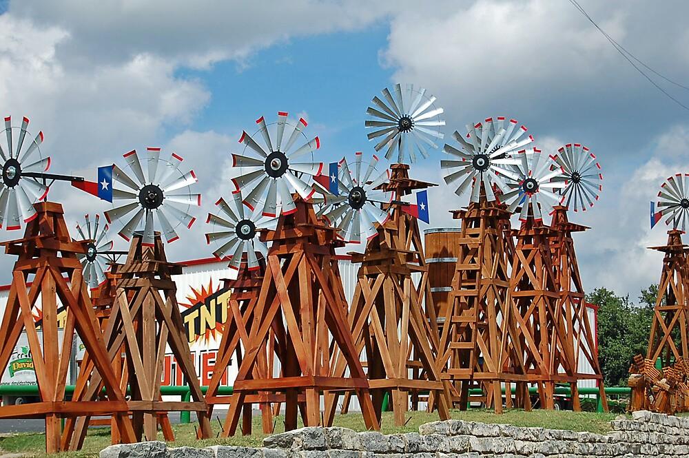 Windmill Farm by Teri Billington