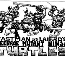 TMNT original by jetibbetts
