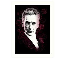 Gallifreyan Doctor Art Print