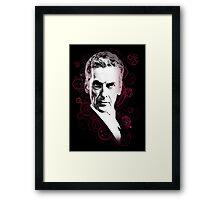 Gallifreyan Doctor Framed Print