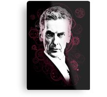 Gallifreyan Doctor Metal Print
