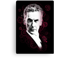 Gallifreyan Doctor Canvas Print