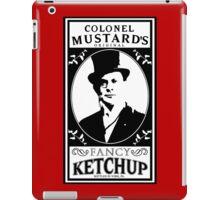 Colonel Mustard's Fancy Ketchup iPad Case/Skin
