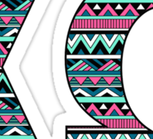 Tribal Print Chio Sticker