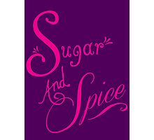 Sugar and Spice Photographic Print