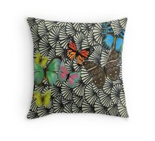 Sea Shelled Throw Pillow