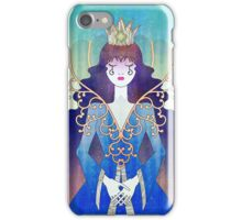 Anthrocemorphia - Queen of Clubs iPhone Case/Skin