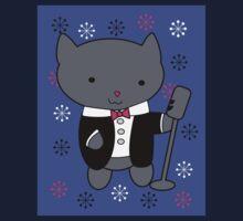 Jazz Singer Cat One Piece - Long Sleeve