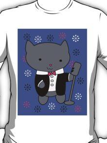 Jazz Singer Cat T-Shirt