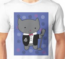 Jazz Singer Cat Unisex T-Shirt