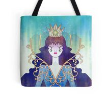 Anthrocemorphia - Queen of Clubs Tote Bag