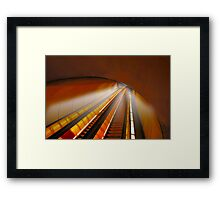 Tripping at Dupont Station Framed Print