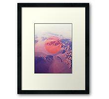 Big Pink Framed Print