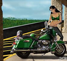 Motorcycle  Vixen by Sarah-Lynn Brown