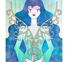 Anthrocemorphia - Queen of Spades by Sophia Adalaine Zhou