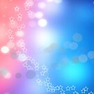 3d two colors winter holiday background 1 by Anton Oparin