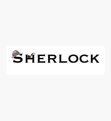 Sherlock - Doyle Photographic Print