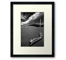 Undisturbed at Great Sand Dunes National Park Framed Print