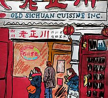 Chinatown Cuisine by mikebone