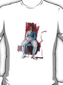 Female model T-Shirt