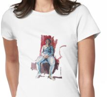 Female model Womens Fitted T-Shirt