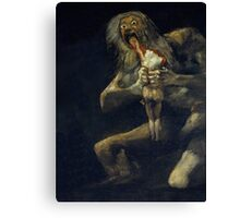 De Goya's Monsters Canvas Print