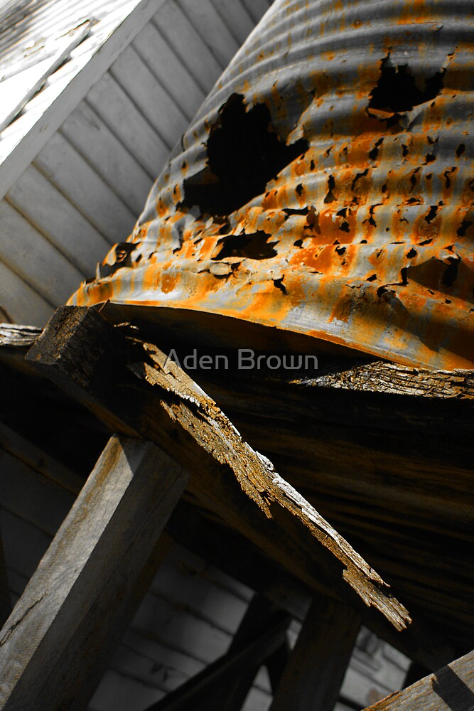 Rusted Through by Aden Brown